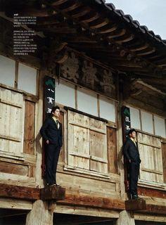 Jung Hwa Su by Shin Seon Hye for GQ Korea Mar 2012