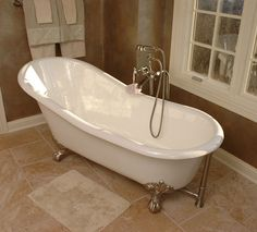 Clawfoot Tub With Shower Enclosure Always Wanted One Of