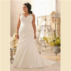 White Ivory Bridal Gown Satin Wedding Dresses Custom Plus Size 18 20 22 24 26 28