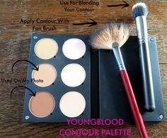 How To Use Youngblood Contour Palette