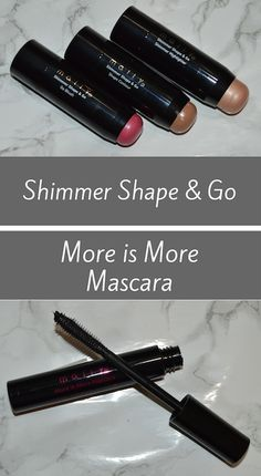 Mally Shimmer Shape & Go and More is More Mascara