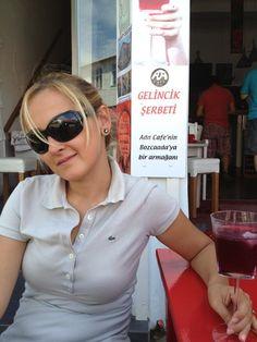 Twitter / MERVE ÇIKIKÇI @mervecikikci  Bozcaada- Gelincik Şerbeti ...
