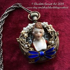 Pearls+and+Bows+by+CharlotteGarrettArt+on+Etsy
