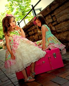 Girls Easter Dress Girls Spring Summer Dress by rosieposiegifts