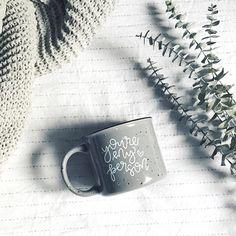 You're My Person Grey Campfire Mug