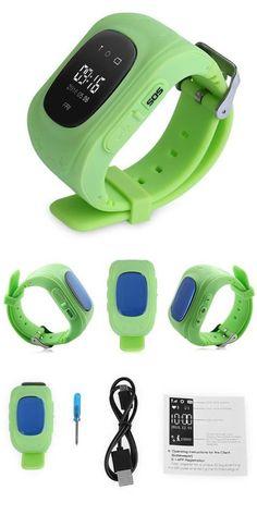 Smart watch Children Wristwatch- GPRS GPS Locator Tracker Anti-Lost  Smartwatch Child Guard for iOS Android 8e0a4996da
