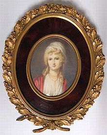 Charlotte's daughter, Augusta Murray, who marries the King of England's son, Prince Augustus