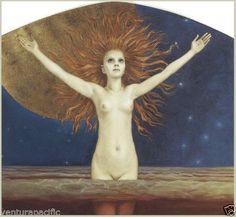 Ad-Astra-To-the-Stars-Aleksi-Gallen-Kallela-c1906-Fine-Art-Giclee-Print