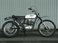 1972 BSA B50MX #motorcycle
