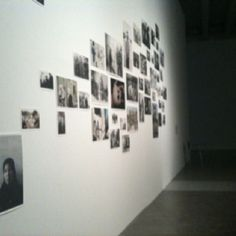 Pictures on a grey wall (sight one)