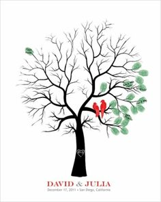 Fingerprint Tree; free template...Fun Fall Craft