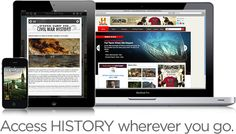 "History Mobile - when you want to know, ""What History Happened Here?"""
