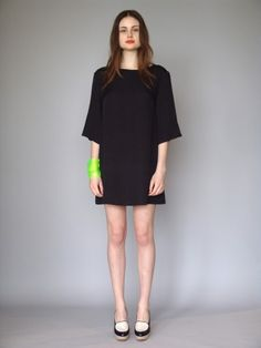 very short skirts for fun, funky looks.  slightly dropped shoulders.