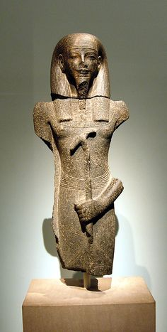 Male god.  Period:     New Kingdom. Dynasty:     Dynasty 18. Reign:     reign of Amenhotep III. Date:     ca. 1390–1352 B.C. Geography:     Country of Origin Egypt. Medium:     Granodiorite.