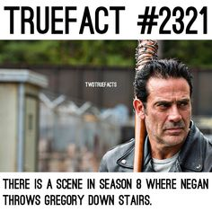 """3,190 curtidas, 85 comentários - If I Posted It.. Its True. (@twdtruefacts_) no Instagram: """"Who even likes Gregory anyway.. #TheWalkingDead #TWD #WalkingDead"""""""
