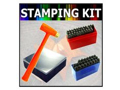 4pc Professional Grade Complete Stamping Kit by rubiproducts