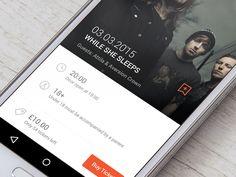 Random Venue #App #UI by Mynus