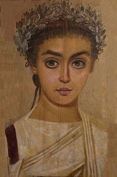 Beautiful!Fayum mummy portrait.modifay