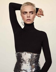 Photography: Alexandra Nataf. Styled by: Ilona Hamer. Hair: Mara Roszak. Makeup: Molly Stern. Model: Cara Delevingne