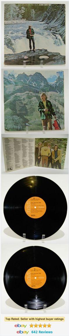 John Denver Rocky Mountain High Album LP Vinyl Record 1972 RCA Vintage LSP 4731    eBay