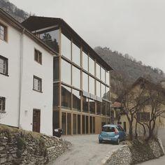 New atelier building, Haldenstein, Peter Zumthor - photo: Leonard Kadid