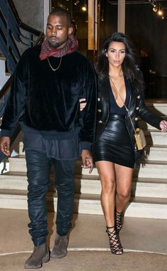 Kim Kardashian Flaunts Serious Cleavage While Visiting Kanye West's New Pop-Up Shop in Melbourne  Kanye West, Kim Kardashian