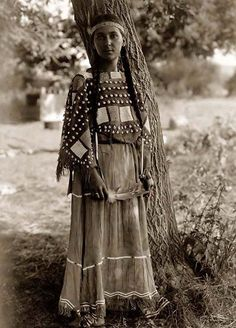 Sioux Indian Maiden