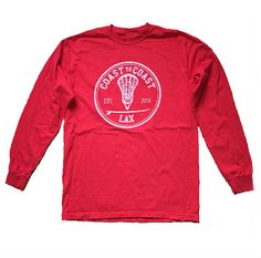 This Unisex Long Sleeve Tee offered in a Red Tide Color. They are the same great Quality as our other 100% Cotton Tees. - 100% Ringspun Cotton - Pre-Shrunk and ready to be worn This great quality tee