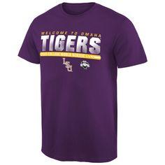LSU Tigers 2015 NCAA Men's Baseball College World Series Bound Participant T-Shirt - Purple - $18.99