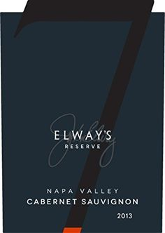 2013 Elways Reserve Napa Valley Cabernet Sauvignon 750ml Wine ** You can find more details by visiting the image link.