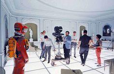 Stanley Kubrick directs '2001'