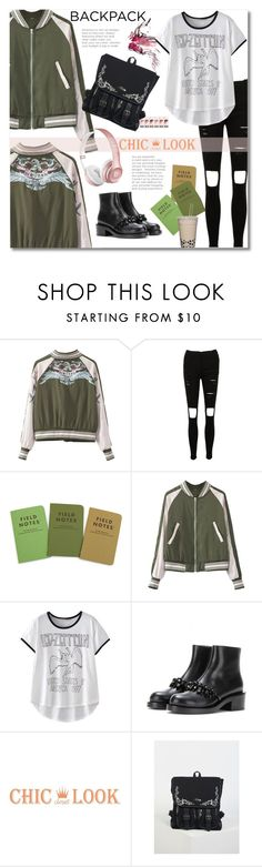 """White Angel"" by andrea2andare ❤ liked on Polyvore featuring Beats by Dr. Dre, backpack and inmybackpack"