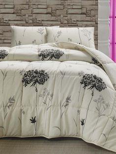 Prešívaná prikrývka na dvojlôžko Efil, cm Hygge, Bedding Sets, Comforters, Blanket, Home Decor, Creature Comforts, Quilts, Decoration Home, Room Decor