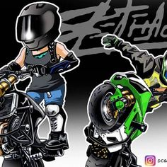 Badass Motorcycle Artwork by Scaronistefano Funny Motorcycle, Motorcycle Helmets, Dragon Light, Moto Car, Stunt Bike, Motorbike Girl, Skull Wallpaper, Number Stickers, Yamaha Yzf