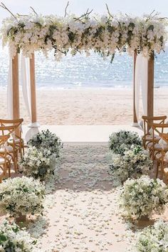 wedding ceremony decorations with white orchids and cloth on the beach iamflower. wedding ceremony decorations with white orchids and cloth on the b. Elegant Wedding, Perfect Wedding, Trendy Wedding, Rustic Wedding, Wedding White, Glamorous Wedding, Burgundy Wedding, Industrial Wedding, Summer Wedding