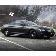 Big Black And Beautiful BMW Shadow Walker By SR Auto Group Murdered Out With Flat Paint