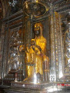 The statue of the Black Madonna, Montserrat - 6 Sept 10 by Heartstart, via Flickr