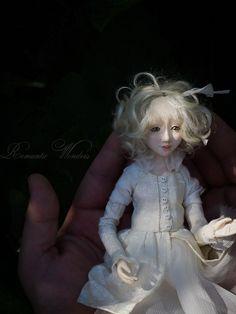 Little Gardener and Fox Handmade air-dry clay doll, OOAK by Romantic Wonders Clay Dolls, Art Dolls, Air Dry Clay, Disney Characters, Fictional Characters, Game Of Thrones Characters, Fox, Romantic, Disney Princess