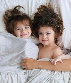 Beautiful Children, Beautiful Babies, Cute Kids, Cute Babies, Curly Hair Baby, Cute Baby Girl Pictures, Family Kids, New Series, Sunday Morning