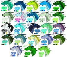 Arc 1 (Books 1-5) SeaWings by WindstarofWindclan on DeviantArt