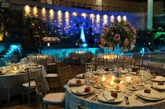 Montaje de boda realizada en Xcaret / Wedding set up in Xcaret #Wedding #Boda #Xcaret #RivieraMaya