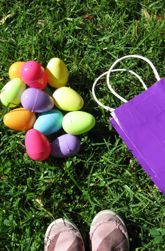 A fun math activity to play outside on a beautiful spring day! :-)