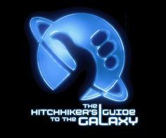 Guida galattica per autostoppisti The Hitchhikers Guide to the Galaxy. The Hitchhiker, Hitchhikers Guide, Douglas Adams, Famous Novels, Famous Books, Best Sci Fi Books, Popular Book Series, Science Fiction Books, Fiction Novels