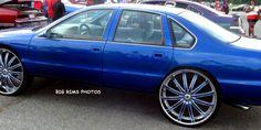 Chevy Caprice on 28's - Big Rims - Custom Wheels