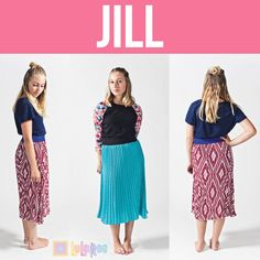 Maternity Nwt Lularoe Jill Pleated Skirt Xs Hot Pink And White Chevron Pattern Wide Varieties