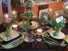 How I'd like my table to look on St. Patrick's day