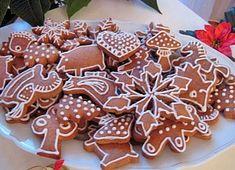 Všechny recepty | Veganotic Vegan Desserts, Gingerbread Cookies, Waffles, Eggs, Baking, Breakfast, Sweet, Christmas, Food