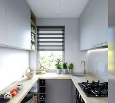 Kitchen Room Design, Home Decor Kitchen, Interior Design Kitchen, Custom Kitchens, Home Kitchens, Küchen In U Form, Pooja Room Design, Small Apartment Kitchen, Minimalist Kitchen