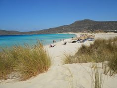 Beautiful shades of blue, Sarakiniko beach
