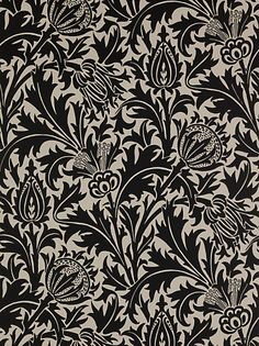 Sanderson William Morris Thistle Wallpaper